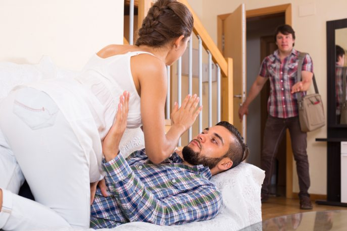 What to do when your wife cheats on you